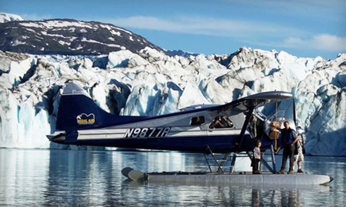 Regal Air - Anchorage International Airport: $112 for Knik and Colony Glacier Flightseeing Tour from Regal Air ($225 Value)