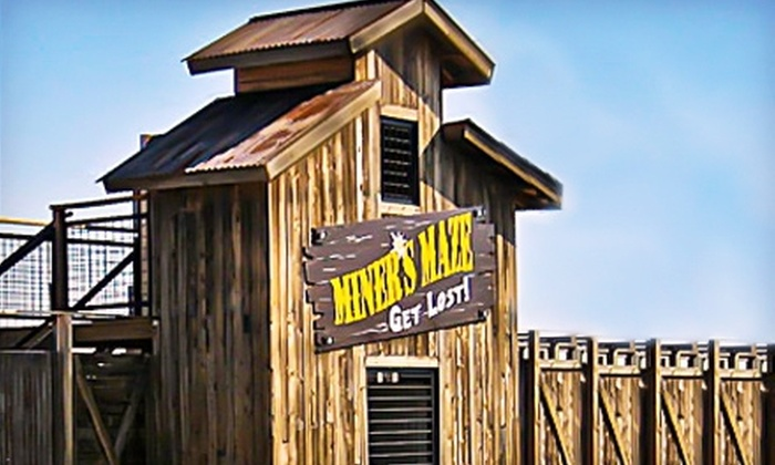 Miner's Maze Adventureland - Golden: $5 for Two Unlimited Maze-Access Passes ($16 Value) or $7 for a Gold Mine Pass ($15 Value) at Miner's Maze Adventureland in Golden