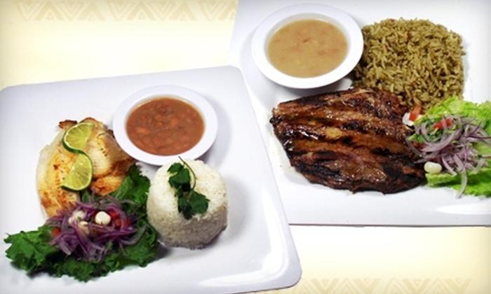 Inca Trail Peruvian Restaurant - Oklahoma City: $7 for $14 Worth of Peruvian Fare at Inca Trail Peruvian Restaurant