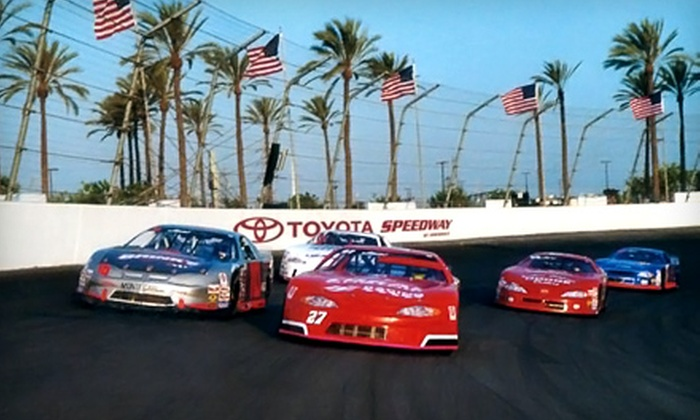 Toyota Speedway at Irwindale  - Covina-Valley: $49 for Reserved Seats for Four and Parking at Toyota Speedway at Irwindale ($130 Value)