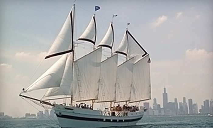"Tall Ship ""Windy"" - Near North Side: $15 for One Ticket to a Summer Sail on Tall Ship ""Windy"" (Up to $30 Value)"