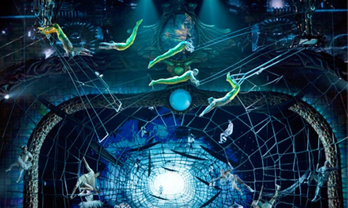 """""""Zarkana"""" from Cirque du Soleil - Midtown Center: $62 for One Orchestra or First Mezzanine Ticket to """"Zarkana"""" from Cirque du Soleil at Radio City Music Hall ($140 Value)"""