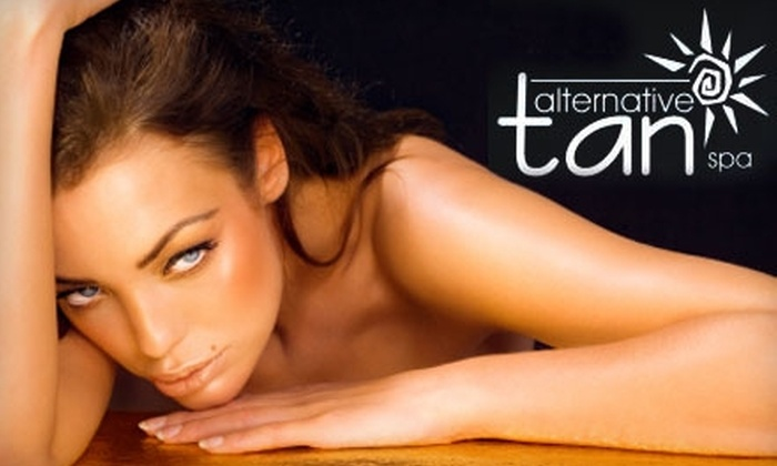 Alternative Tan Spa - Multiple Locations: $24 for 5 Weeks of Selected Tanning Services at Alternative Tan Spa (Up to $56 Value)