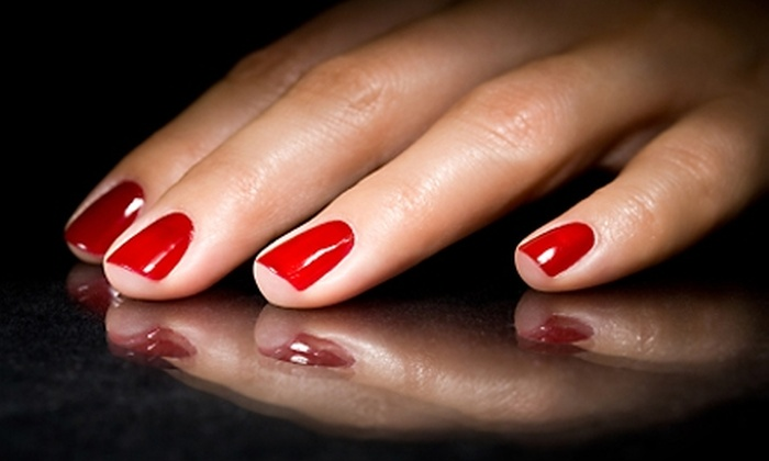 null - Multiple Locations: $20 for a No-Chip Manicure at Blackfriars Salon & Spa ($40 Value)