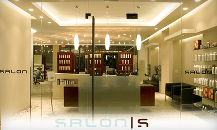 Salon S - Northvale: $49 for $100 Worth of Hair and Spa Services at Salon S