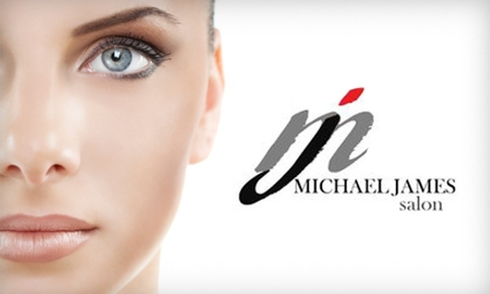 Michael James Salon - Montgomery: $17 for Eyelash Extensions ($35 Value) or $7 for Eyebrow Threading ($15 Value) at Michael James Salon