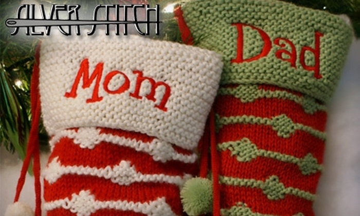 Silver Stitch - Fontainbleu: $10 for $20 Worth of Monogramming, Embroidery, and More at Silver Stitch