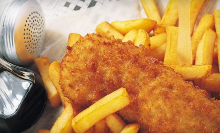 Two Orders of Fish 'n' Chips (a $31.98 value) - The Lobster Trap in Gananoque