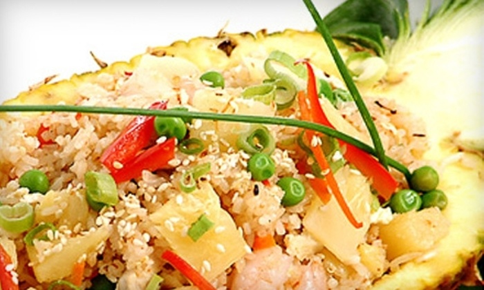 Lemongrass - City Centre: $15 for $35 Worth of Asian Fusion Cuisine and Drinks at Lemongrass in Mississauga