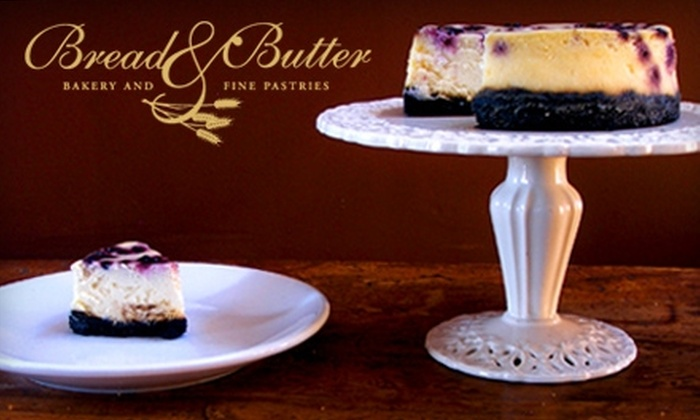 Bread & Butter Bakery and Fine Pastries - Meadowbrook: $8 for $20 Worth of Artisan Baked Goods and More at Bread & Butter Bakery and Fine Pastries