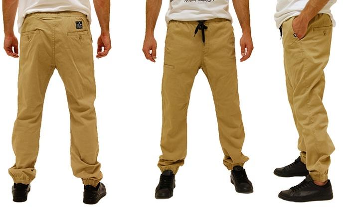 Eckō Unltd. Men's Twill Joggers (Size 30)
