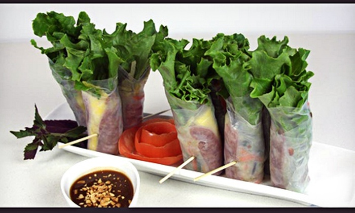 La Lot Restaurant and Bar - Belltown: Vietnamese Cuisine at La Lot Restaurant and Bar (Half Off). Two Options Available.