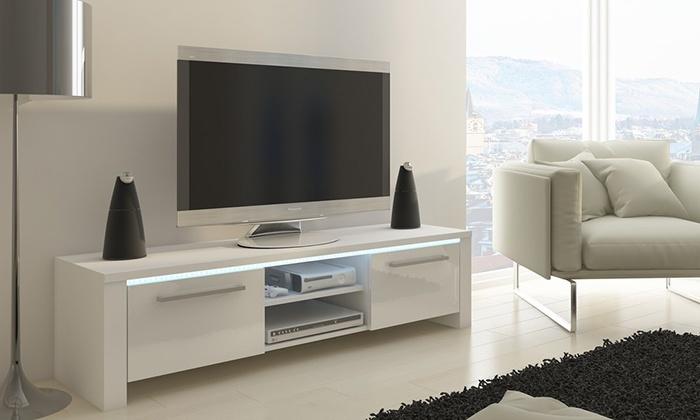 tv unterschrank 160 cm groupon goods. Black Bedroom Furniture Sets. Home Design Ideas