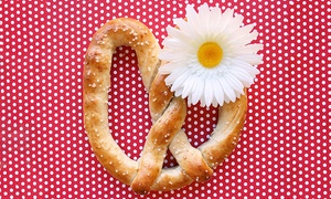 Wetzel's Pretzels - Cedar Park: Hot Dogs, Pretzels, and Drinks at Wetzel's Pretzels (Up to 44% Off). Two Options Available.