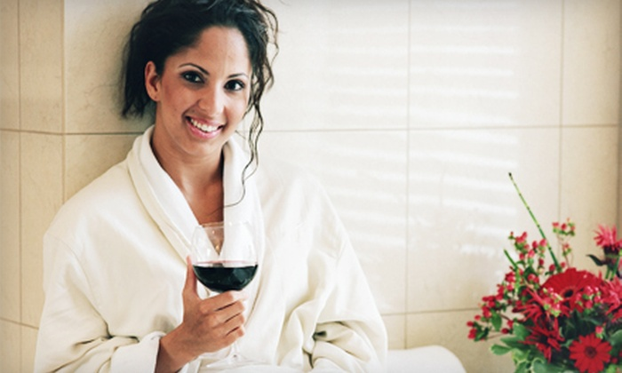 VINO+THERAPY Studio - Atascadero: Spa Day with Wine for 1, 2, or 10 People at Vino+Therapy Studio (Up to 67% Off)