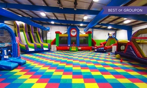 The Jump Yard: One Admission to Thursday Night Glo Night or Friday Night Teen Night at The Jump Yard (Up to 43% Off)