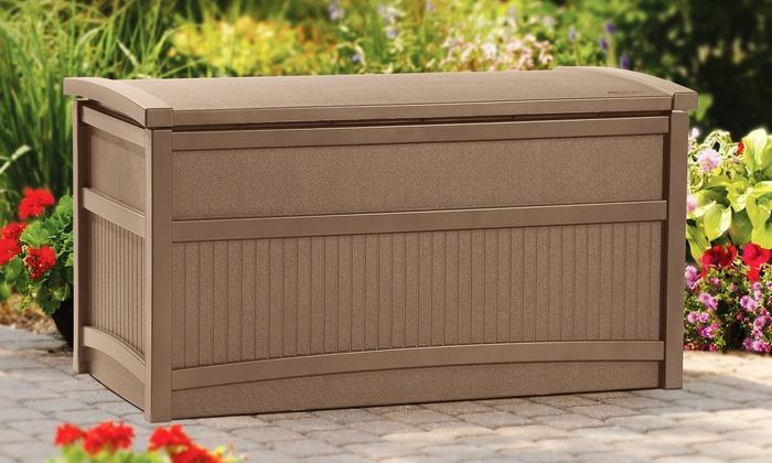 Suncast 50-Gallon Deck Box