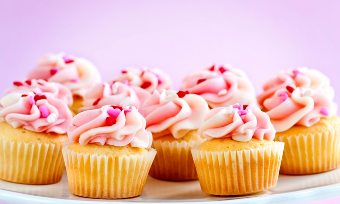 The Cupcake Shoppe - The Cupcake Shoppe: Four or Two Dozen Mini Cupcakes at The Cupcake Shoppe (Up to 52% Off)