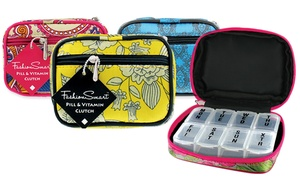 Zippered Pill And Vitamin Clutch