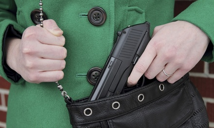 Conceal-and-Carry Permit-Certification Course for One or Two at Active Defense Awareness Training (Up to 67% Off)