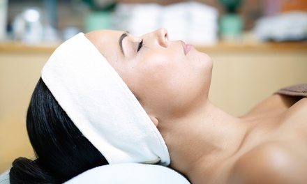 One or Three 90-Minute Custom Facials at Peach Soup Massage and Skin Care (Up to 66% Off)