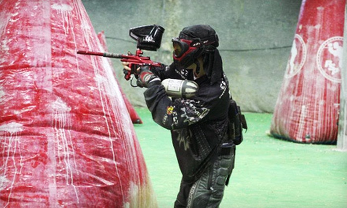 Next Paintball - Pickering: $20 for an Indoor Paintball Outing with Equipment Rental and Paintballs for Two at Next Paintball in Pickering ($74 Value)