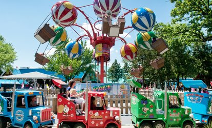 image for One <strong>Amusement</strong> Park Visit for Two or Four People at Santa's Village Azoosment Park (Up to 22% Off)