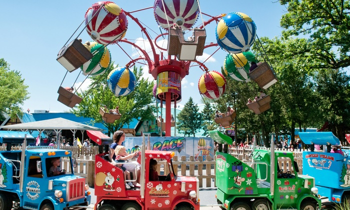 Santa's Village Azoosment Park - East Dundee: Amusement-Park Visit for Two or Four, Valid Saturday or Sunday at Santa's Village Azoosment Park (49% Off)