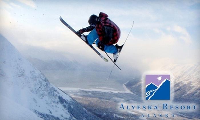 Alyeska Resort - Alyeska: Half Off Lift Ticket at Alyeska Resort in Girdwood. Choose from Five Options.