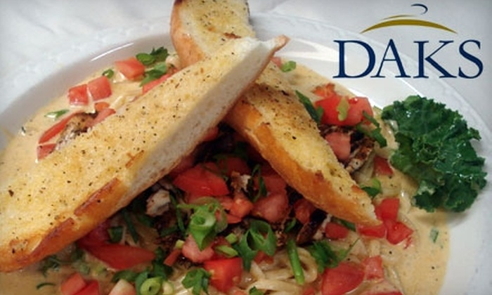 DAKS Grill - Dale City: $15 for $30 Worth of Freshly Made Grill Fare and Drinks at DAKS Grill in Dale City