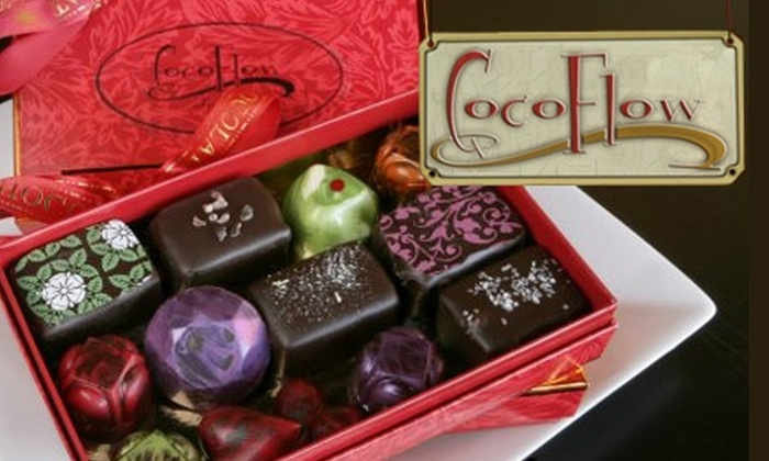 CocoFlow Chocolate Café - Oklahoma City: $10 for $25 Worth of Gourmet Chocolates, Treats, and Drinks at CocoFlow Chocolate Café