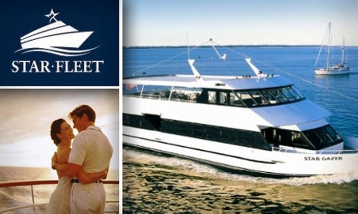 Star Fleet Entertainment - Porto Fino Dockominiums: $64 for a Sunday Champagne Brunch Cruise for Two from Star Fleet Entertainment ($127.74 Value)