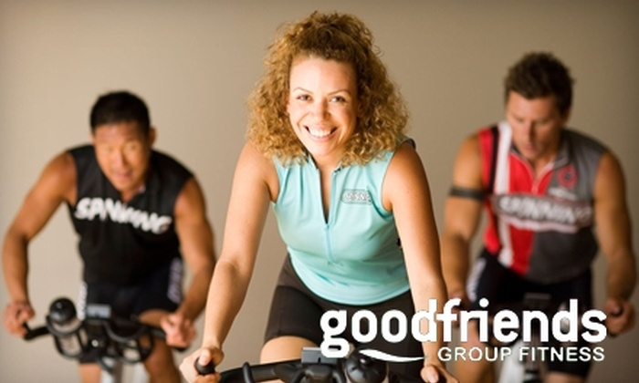 Good Friends Group Fitness - Indian Head-Leigh: $35 for One-Month All-Access Pass ($75 Value) or $20 for One Month of Daytime Classes ($55 Value) at Good Friends Group Fitness