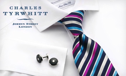 $50 Groupon for Fine Clothing - Charles Tyrwhitt in
