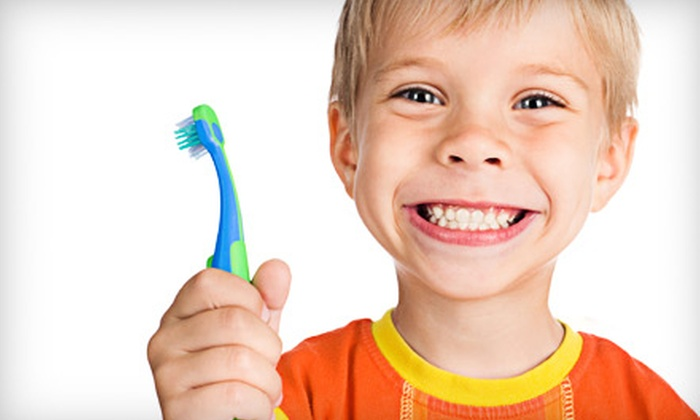 Kids Dental Place - Multiple Locations: $34 for a Kids' Dental Package with Exam, X-rays, Cleaning, and Fluoride Treatment at Kids Dental Place ($249 Value)