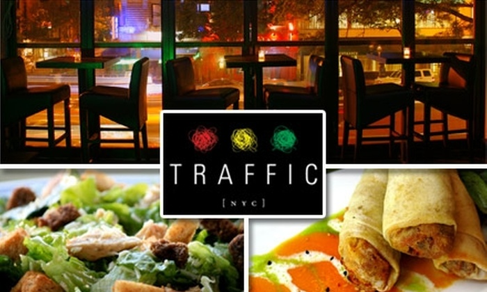 Traffic Bar & Lounge - Midtown East: $20 for $40 Worth of Bar Eats and Sips at Traffic Bar & Lounge