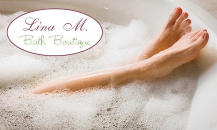 Lina M. Bath Boutique - Downtown Jacksonville: $12 for $25 Worth of Bath and Beauty Products at Lina M. Bath Boutique