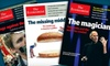 "The Economist Newspaper: 51 Issues of ""The Economist"" or 2012 Wall Calendar from ""The Economist"" (Up to 43% Off)"