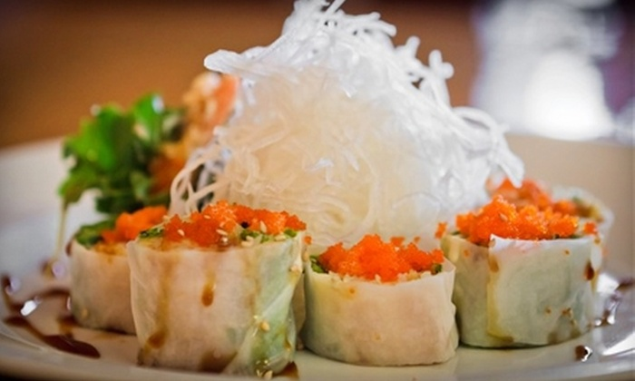 Bento Shop - Fairfield: $6 for $12 Worth of Fresh Sushi and Sashimi at Bento Shop in Fairfield