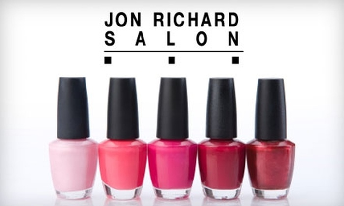 Jon Richard Salon - Cranston: $29 Mani-Pedi at Jon Richard Salon in Cranston ($60 Value)