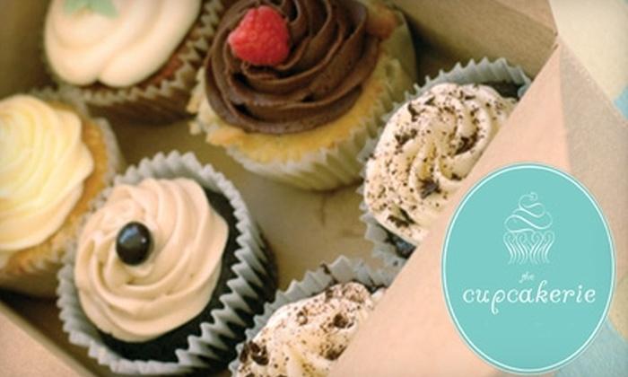 The Cupcakerie - Cranston: $8 for a Half-Dozen Gourmet Cupcakes at The Cupcakerie ($16 Value)