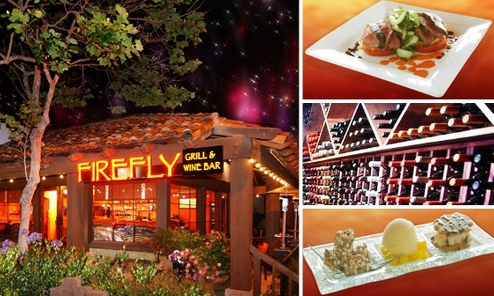 Firefly Grill and Wine Bar - Encinitas: $30 for $65 Worth of Food and Drink at Firefly Grill & Wine Bar