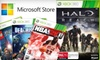 "Microsoft Store - Mission Valley West: $60 for ""Halo: Reach"" and Your Choice of Three New Games at the Microsoft Store (Up to $120 Value)"