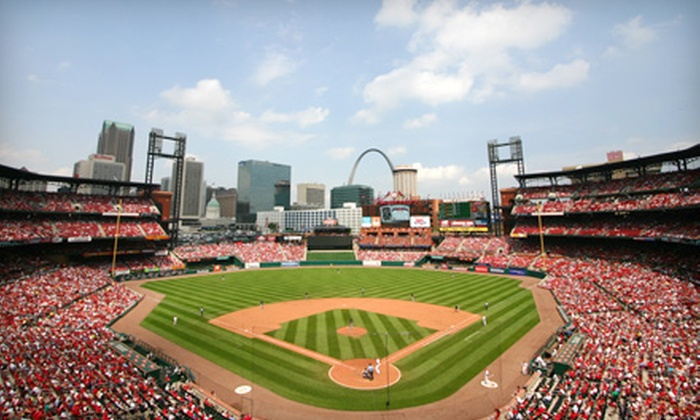 St. Louis Cardinals - Downtown St. Louis: Right- or Left-Field Box Ticket to See St. Louis Cardinals Game. Six Games Available.