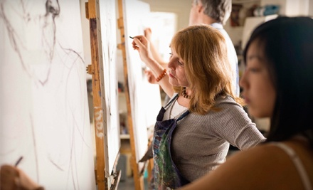 BYOB ArtFul Experience Art Class for One (a $49 value) - The Artisan Learning Studio in Cornelius