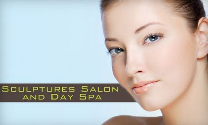 Melissa McCollum at Sculptures Salon and Day Spa - Woodland View Park: Facial Spa Services at Sculptures Salon and Day Spa. Choose Between Two Options.