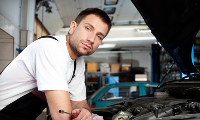 Goodyear Tire Giant - Multiple Locations: Oil-Change Package or Brake Pads or Shoes at Goodyear Tire Giant (Up to 74% Off)