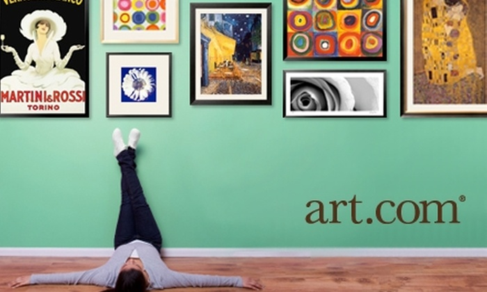 Art.com - Los Angeles: $25 for $50 Worth of Wall Décor, Including Framed Art, Prints, and Posters, from Art.com