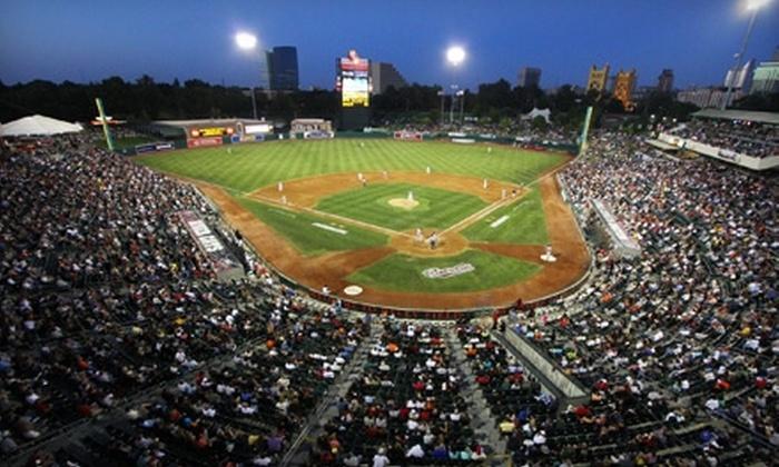 Sacramento River Cats - West Sacramento: $14 for a Ticket and Fan Pack to Sacramento River Cats Game (Up to $32 Value)