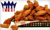 Wing King - Kerrville: $6 for $12 Worth of Wings, Burgers, Sandwiches, and More at Wing King in Kerrville